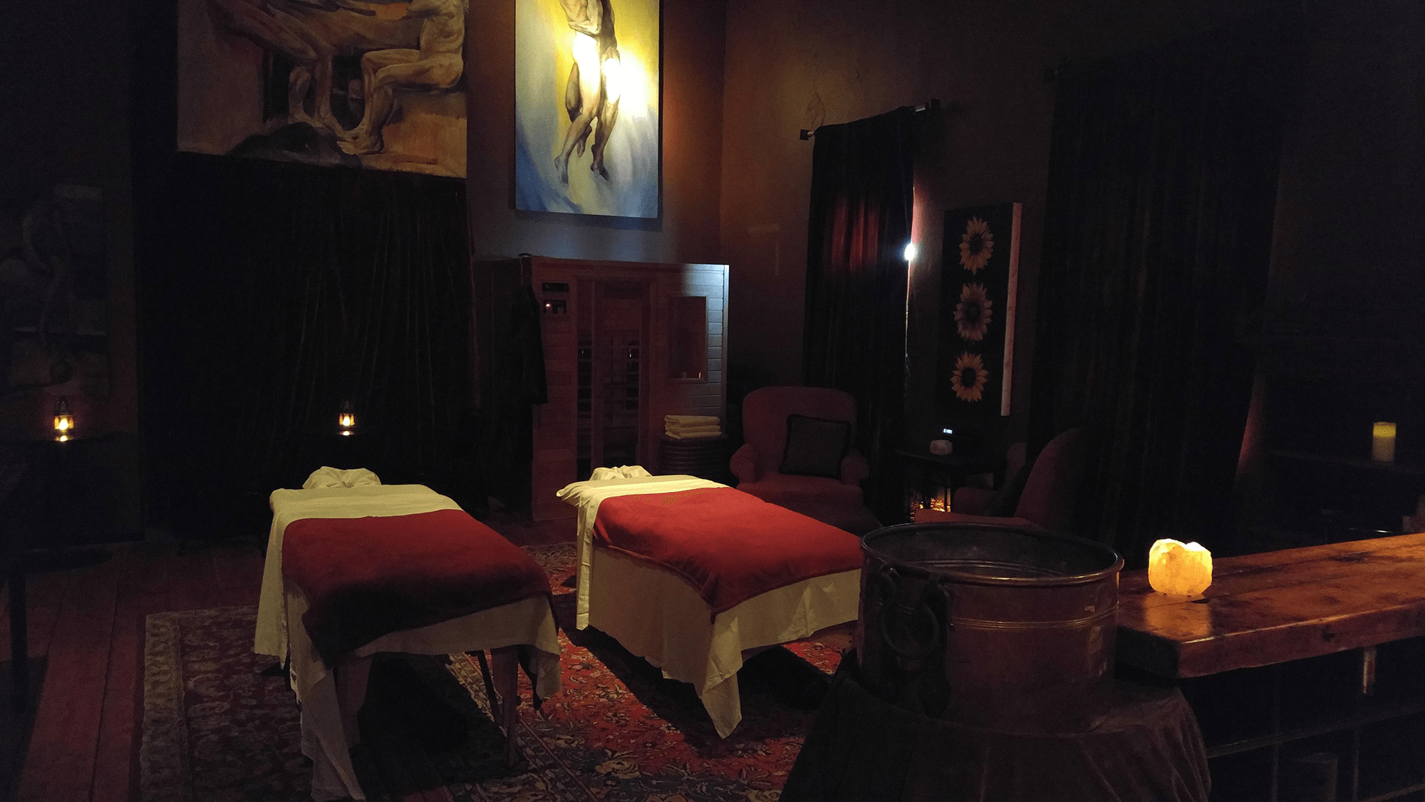 The Little Red Day Spa Lovers Almanac